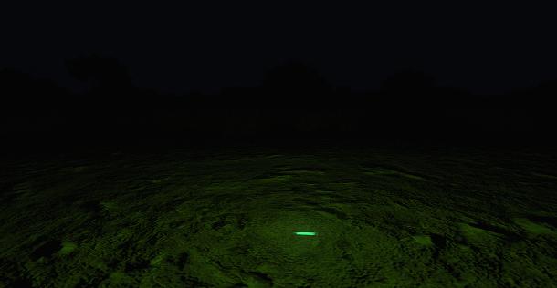 Chemlight verte dans Arma 3.